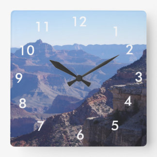 Grand Canyon National Park, South Rim Square Wall Clock