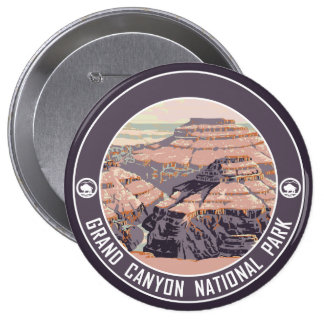 Grand Canyon National Park Souvenir Button