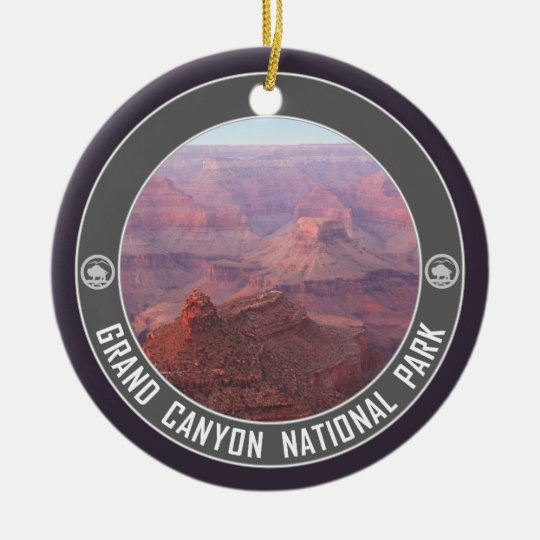 Grand Canyon National Park Souvenir Ceramic Ornament