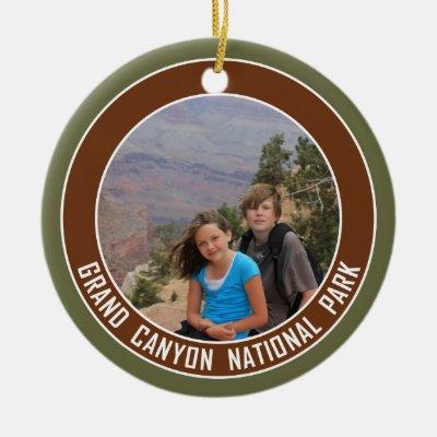 Grand Canyon National Park Souvenir Ceramic Ornament | Zazzle.com