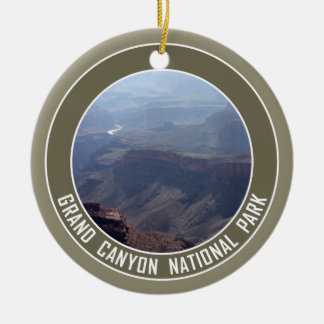 Grand Canyon National Park Souvenir Double-Sided Ceramic Round Christmas Ornament