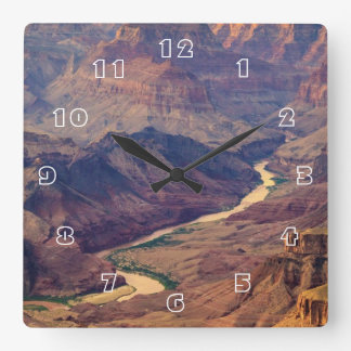 Grand Canyon National Park Square Wall Clock