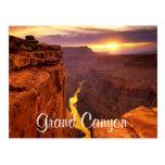Grand Canyon National Park Sunset Arizona Postcard