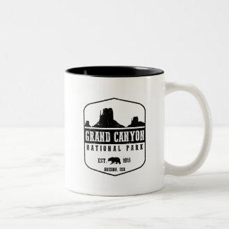 Grand Canyon National Park Two-Tone Coffee Mug