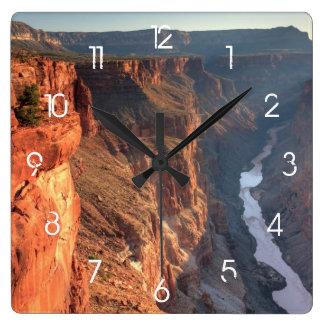 Grand Canyon National Park, USA Square Wall Clocks