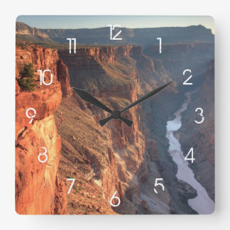 Grand Canyon National Park, USA Square Wall Clock