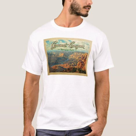 Grand Canyon National Park Vintage Travel T-Shirt