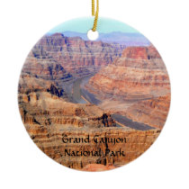 Grand Canyon National Park West Rim Ceramic Ornament