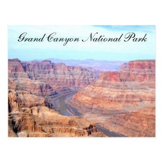 Grand Canyon National Park West Rim Postcard