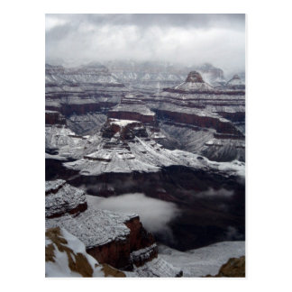 Grand Canyon National Park Winter Postcard