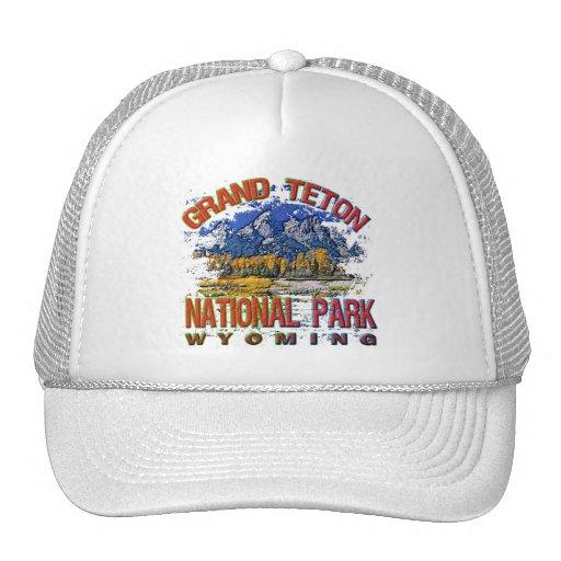 Grand Canyon National Park, Wyoming Mesh Hat