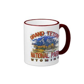 Grand Canyon National Park, Wyoming Ringer Coffee Mug