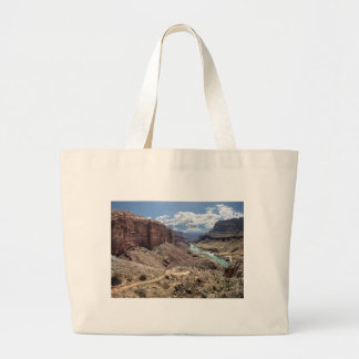 Grand Canyon near Deer Creek Falls - Thunder River Large Tote Bag