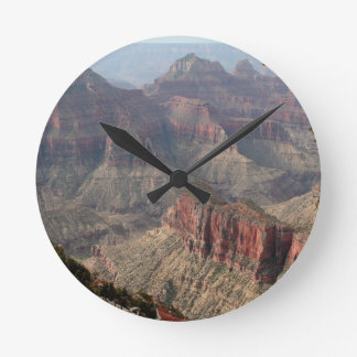 Grand Canyon North Rim, Arizona, USA 6 Round Clock