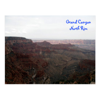 Grand Canyon North Rim Postcard