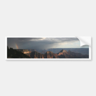 Grand Canyon North Rim Rainbow Bumper Sticker