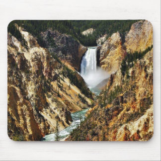Grand Canyon Of The Yellowstone Park Looking Towar Mouse Pad