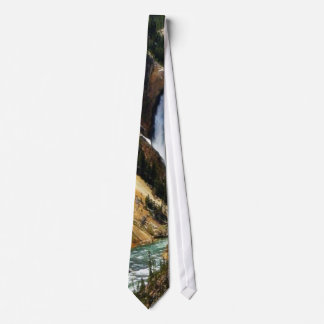 Grand Canyon Of The Yellowstone Park Looking Towar Neck Tie