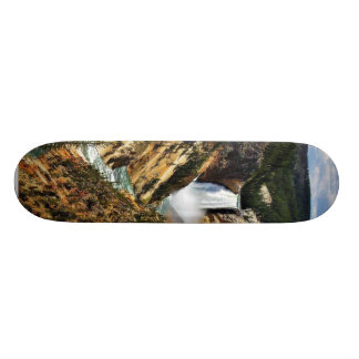 Grand Canyon Of The Yellowstone Park Looking Towar Custom Skate Board