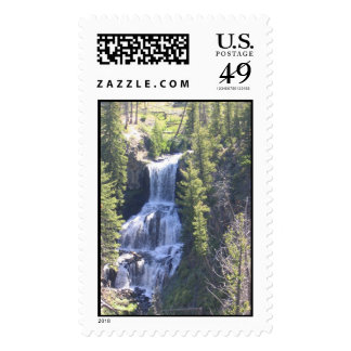 Grand Canyon of the Yellowstone Upper Falls Postage