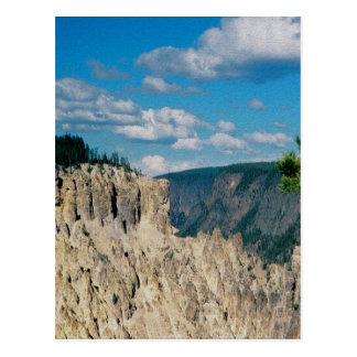 Grand Canyon of Yellowstone Postcard