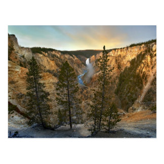 Grand Canyon of Yellowstone, Yellowstone Postcard