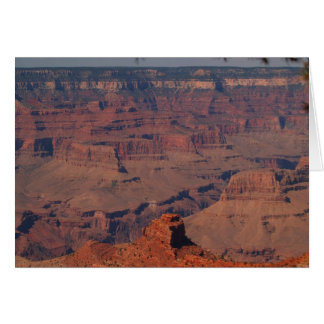 Grand Canyon - Peaks and Valleys Card