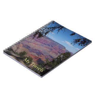 Grand Canyon Photo Travel Journal Spiral Notebook