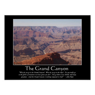 Grand Canyon Piper 1 Poster