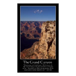 Grand Canyon (piper quote) Posters