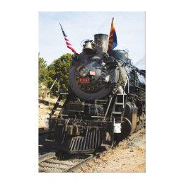 Grand Canyon Railway steam engine 4960 Canvas Print
