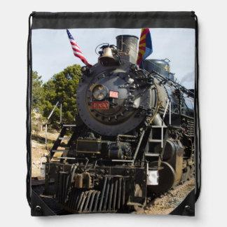 Grand Canyon Railway steam engine 4960 Cinch Bag