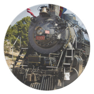 Grand Canyon Railway steam engine 4960 Party Plate