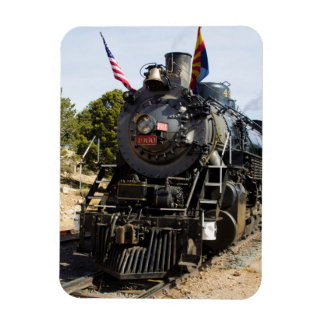 Grand Canyon Railway steam engine 4960 Rectangular Photo Magnet