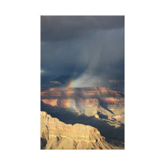 Grand Canyon Rainbow Canvas Print