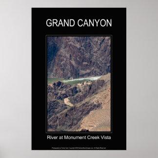 Grand Canyon Rapids 4672 Black Poster