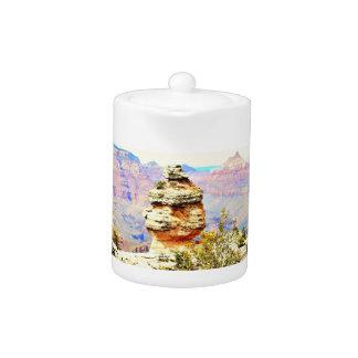 Grand Canyon Rock Tea Pot