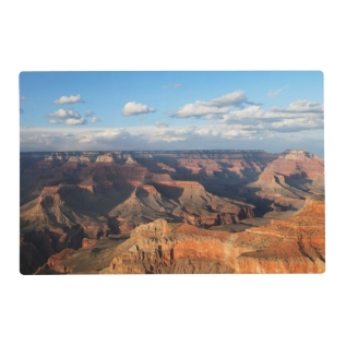Grand Canyon Seen From South Rim In Arizona Placemat at Zazzle