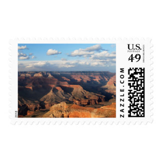 Grand Canyon seen from South Rim in Arizona Postage Stamp