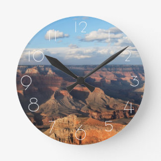 Grand Canyon seen from South Rim in Arizona Round Clock