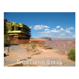 Grand Canyon Skywalk Postcard