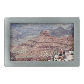 Grand Canyon South Rim, Arizona 5 Rectangular Belt Buckles