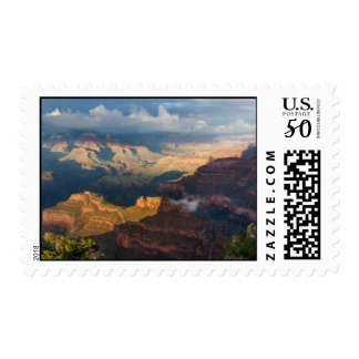 Grand Canyon South Rim from Powell Point Postage