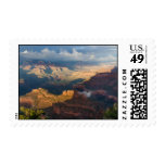 Grand Canyon South Rim from Powell Point Postage Stamps