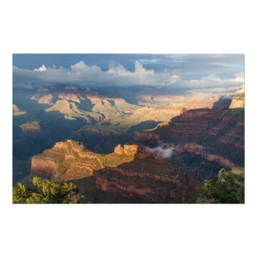 Grand Canyon South Rim from Powell Point Customized Stationery
