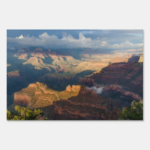 Grand Canyon South Rim from Powell Point Yard Signs