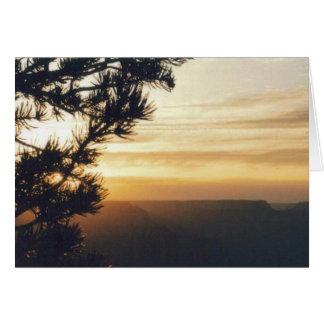 Grand Canyon Sunset Greeting Cards