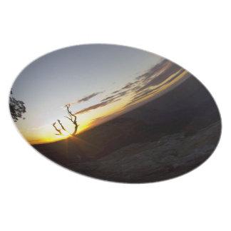 Grand Canyon Sunset Plate 2