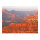 grand canyon sunset post cards