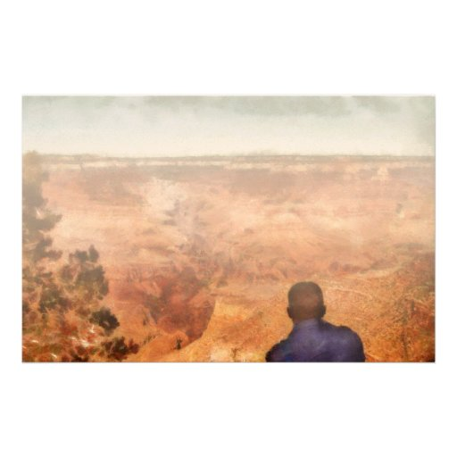 Grand Canyon - The Vista Stationery Paper